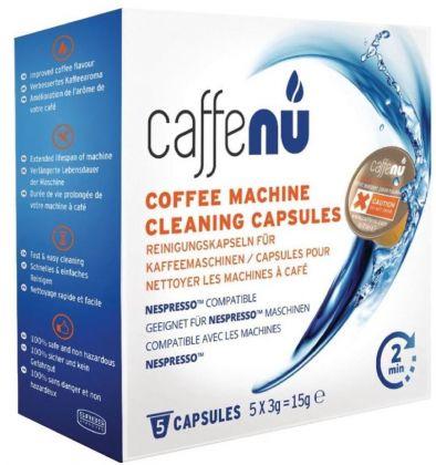 Caffenu® 5 Reinigingscapsules voor Nespresso®