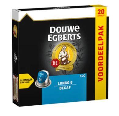 douwe egberts lungo decaf capsules nespresso
