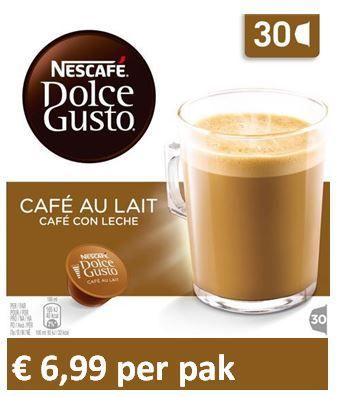 Dolce Gusto® Café au Lait XL 30 capsules