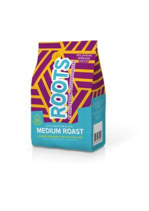 Roots Nespresso® Compatible Medium Roast (4 x 20 st.)
