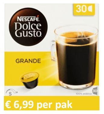 Dolce Gusto® Grande XL 30 capsules