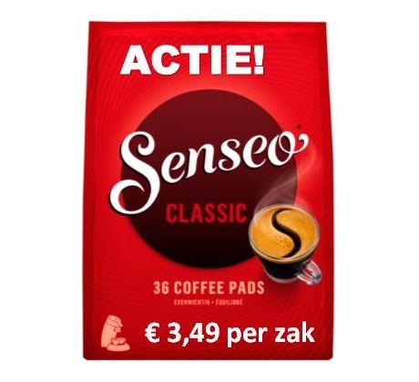 ACTIE! Senseo® Classic 10 x 36 pads