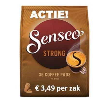 ACTIE! Senseo® Strong 10 x 36 Pads