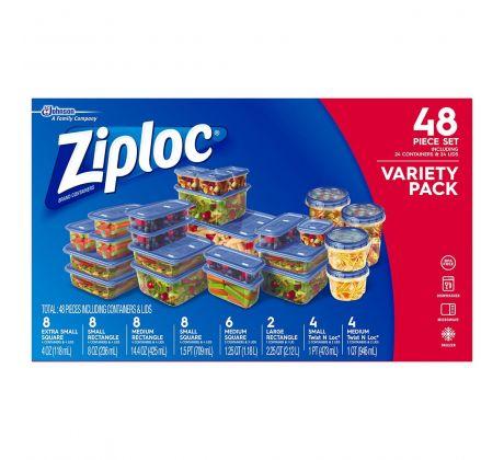 Ziploc® 24 vershoudbakjes