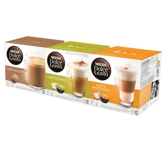 Dolce Gusto® melk-koffie proefpakket
