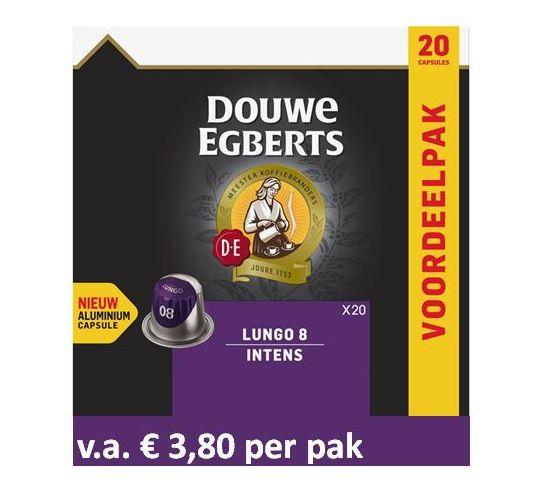 Douwe Egberts Lungo Intens XL (5 x 20 st)